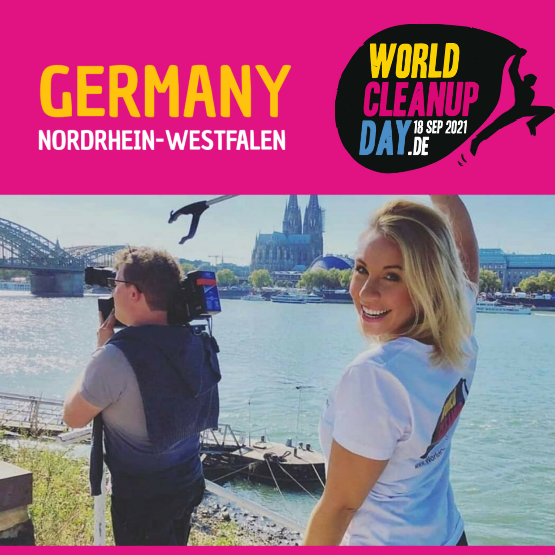 Cleanup Bensberg am World Cleanup Day  - (NRW)