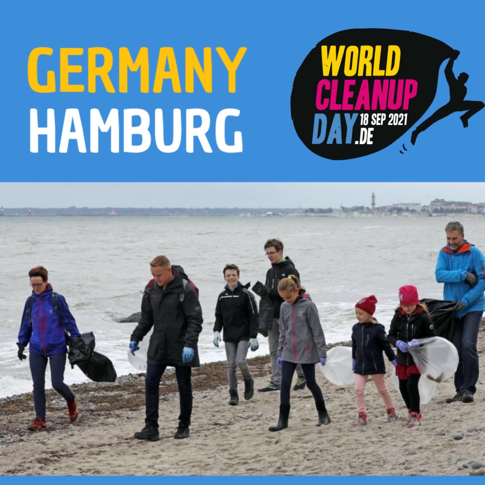 World Cleanup Day - SieNa Nachbarschaftstreff (Hamburg)