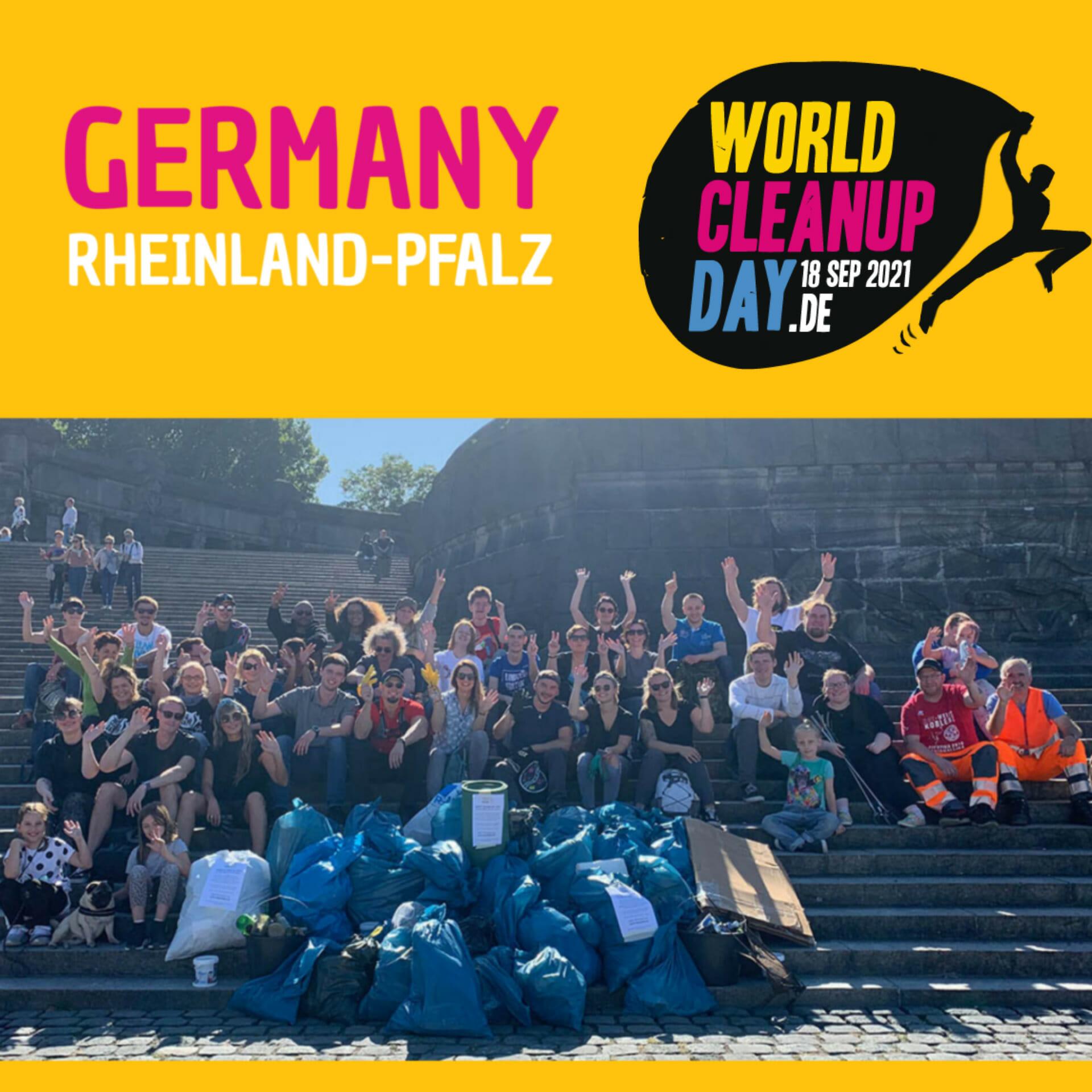 Rettet den Trassenwald cleanup, Ludwigshafen (Rheinland-Pfalz)