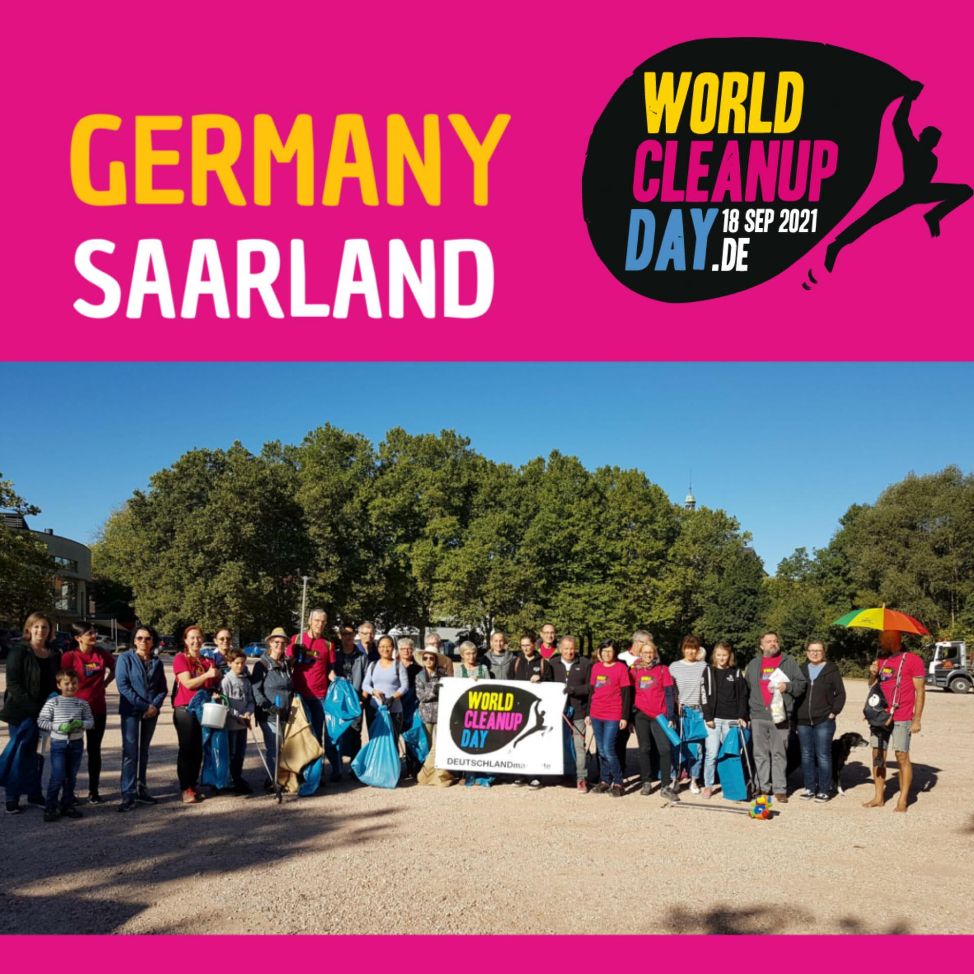 Clean up Karlsbrunn (Saarland)