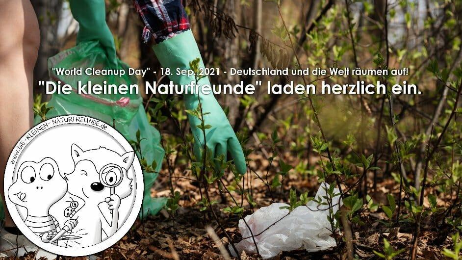 """Cleanup mit """"Die kleinen Naturfreunde"""" (Nordrhein Westfalen)"""