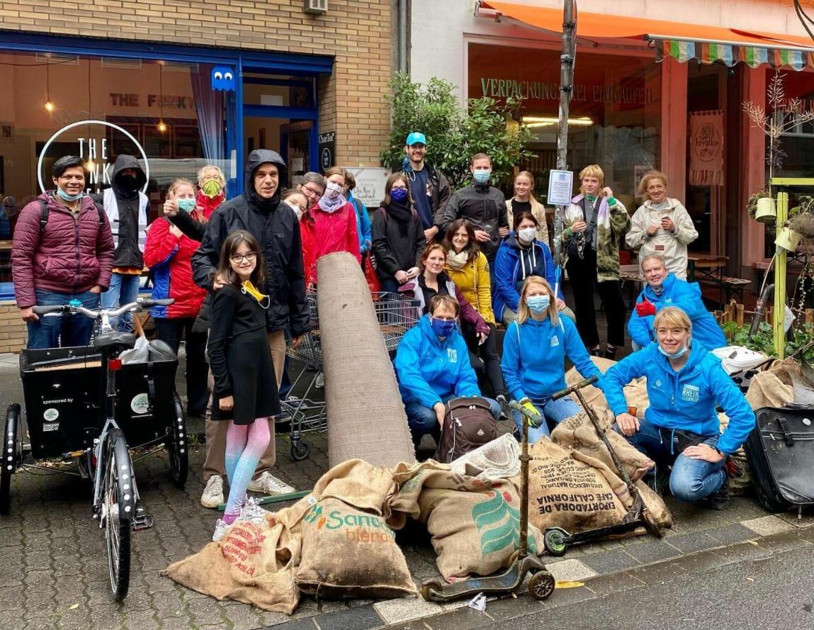 Blockblocks Düssel Cleanup mit der Puren Note (Nordrhein Westfalen)
