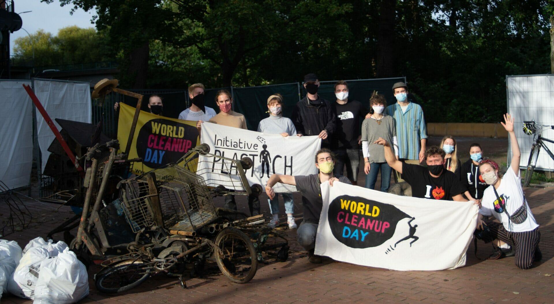 Initiative Plastich InselCleanUp Wilhelmsburg (Hamburg)