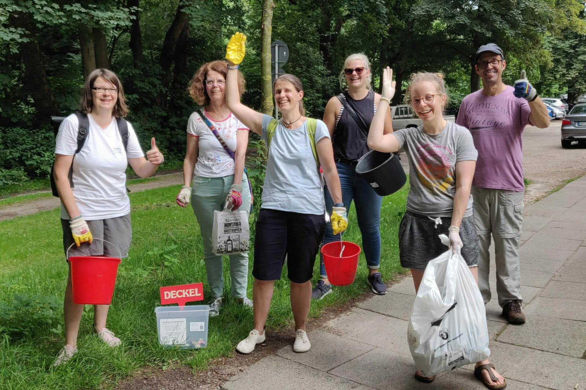 World Cleanup Day in Ammersbek (Schleswig-Holstein)