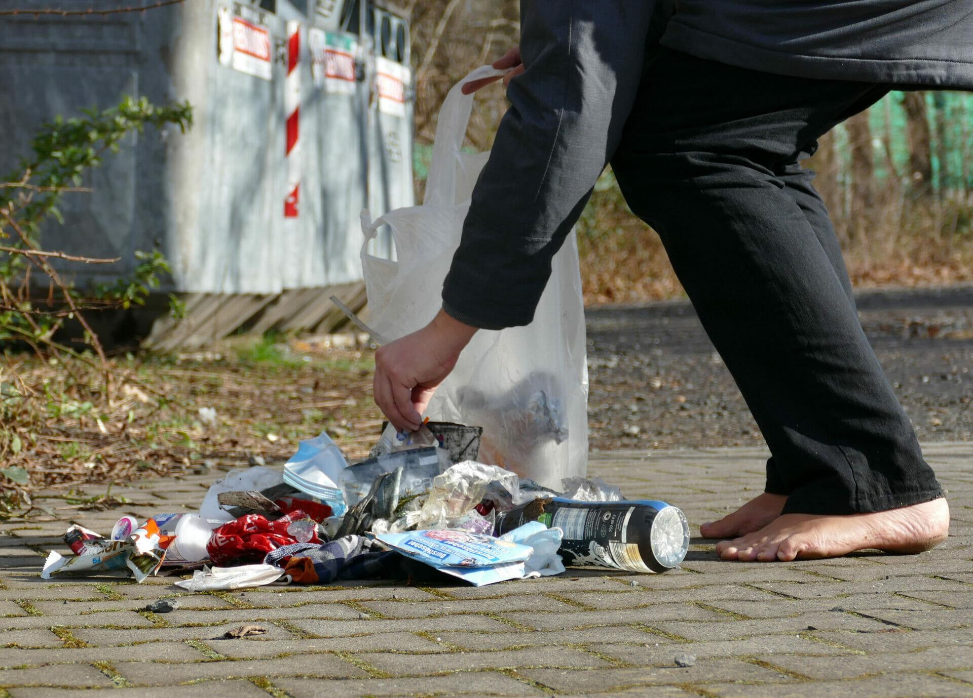 Worldcleanupday in Brühl (Nordrhein-Westfalen)