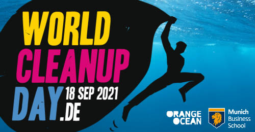 Orange Ocean Supports World Cleanup Day 2021