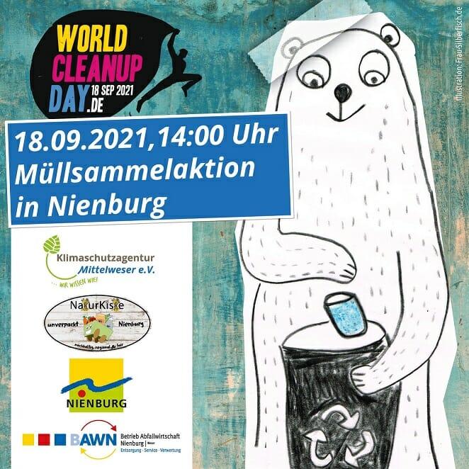 World Cleanup Day in Nienburg (Niedersachsen)