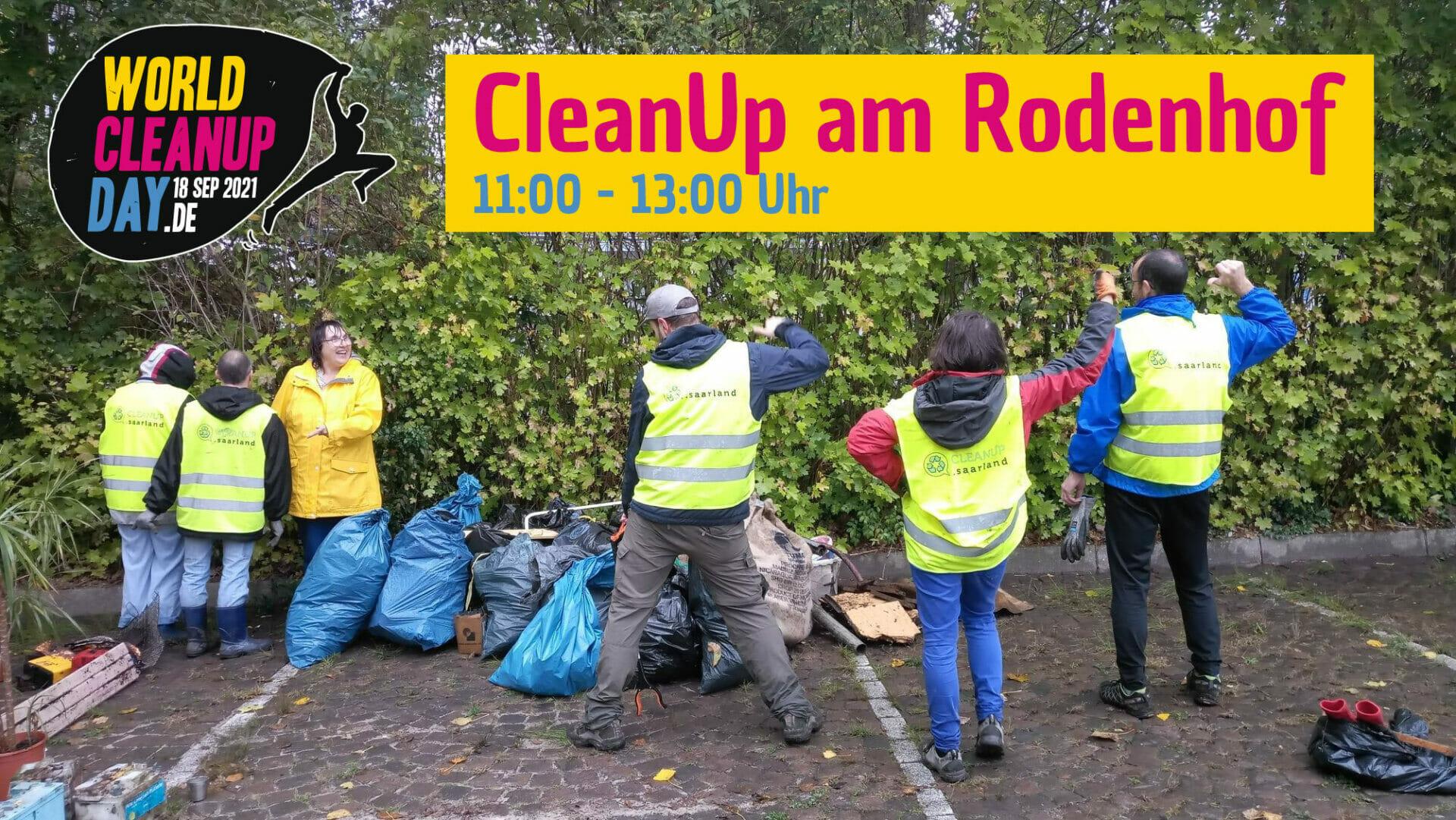 CleanUp am Rodenhof - (Saarland)