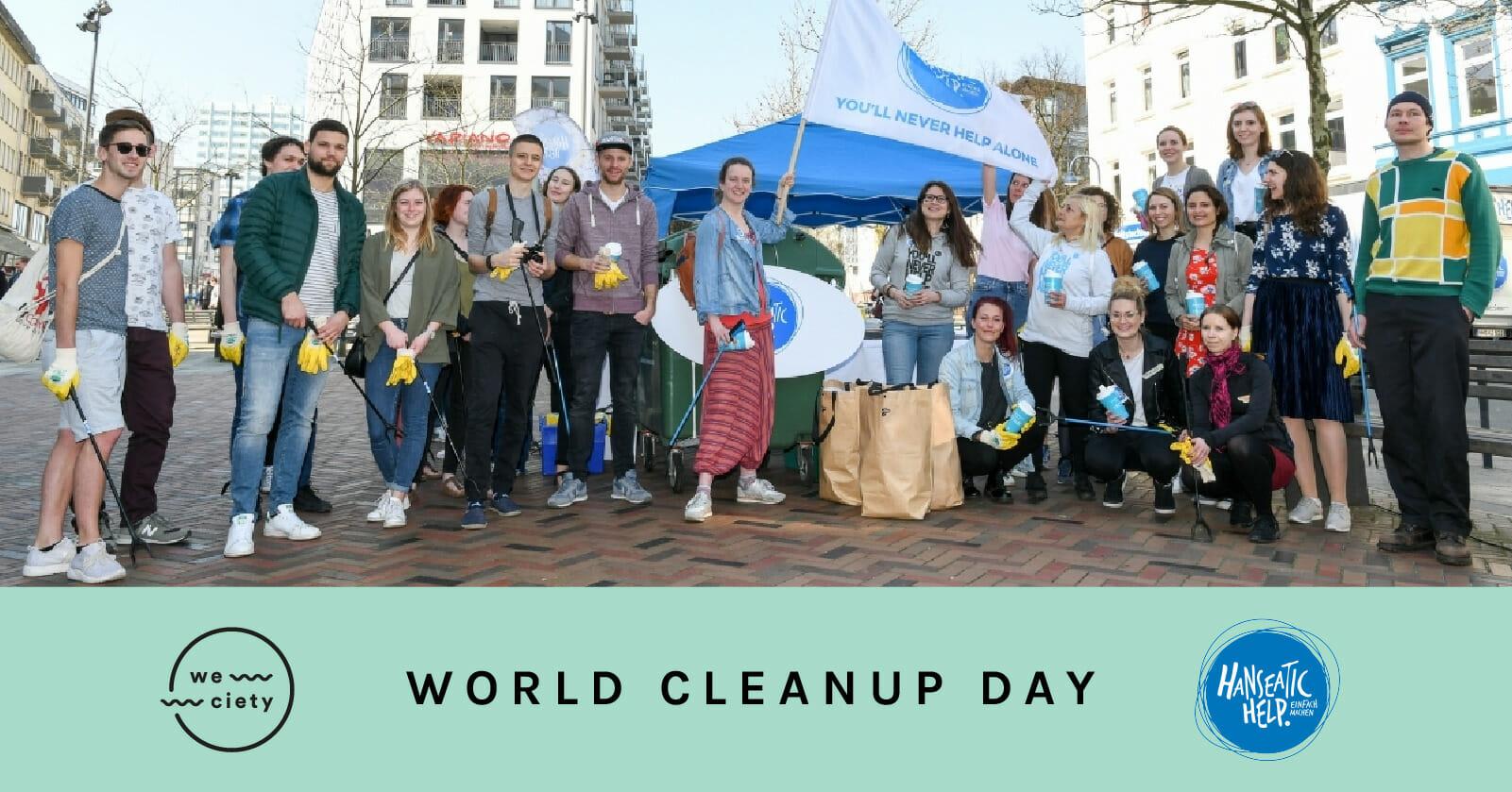 Hanseatic Cleanup mit weciety #worldcleanupday (Hamburg)