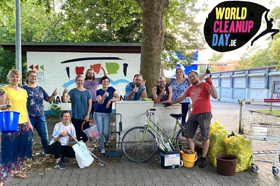 World Cleanup Day 2021 in Freiburg (Baden-Württemberg)