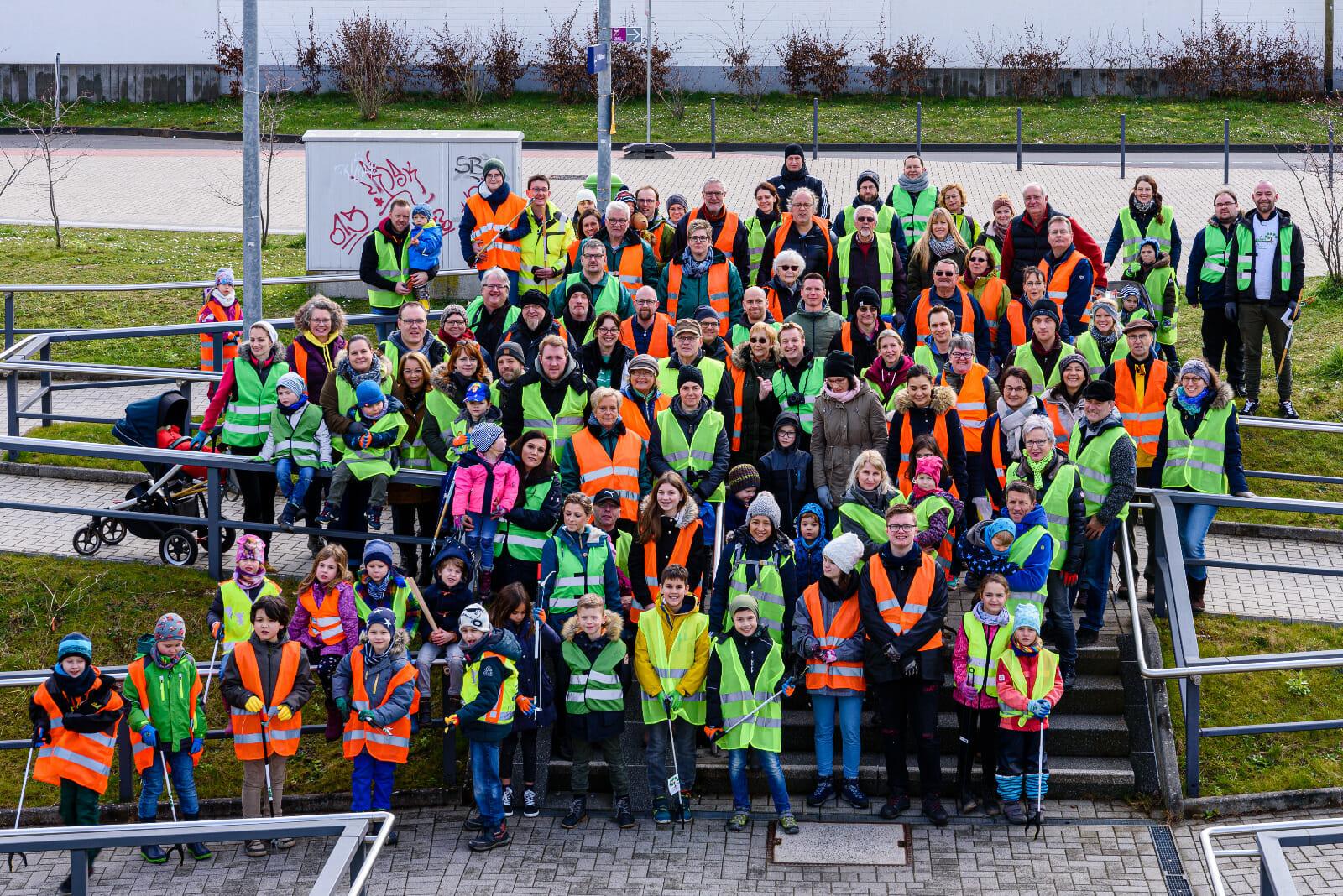 Hochwasser CleanUp Weilerswist zum WCD (Nordrhein-Westfalen)