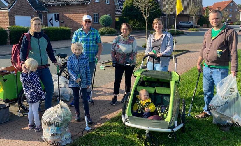 World Cleanup Day Steinfurt-Grottenkamp (Nordrhein Westfalen)