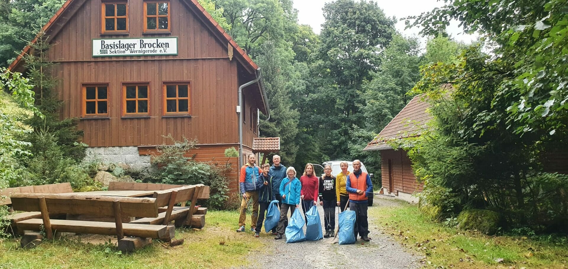 Deutscher Alpenverein - Müllsammeln im Nationalpark Harz (Niedersachsen)