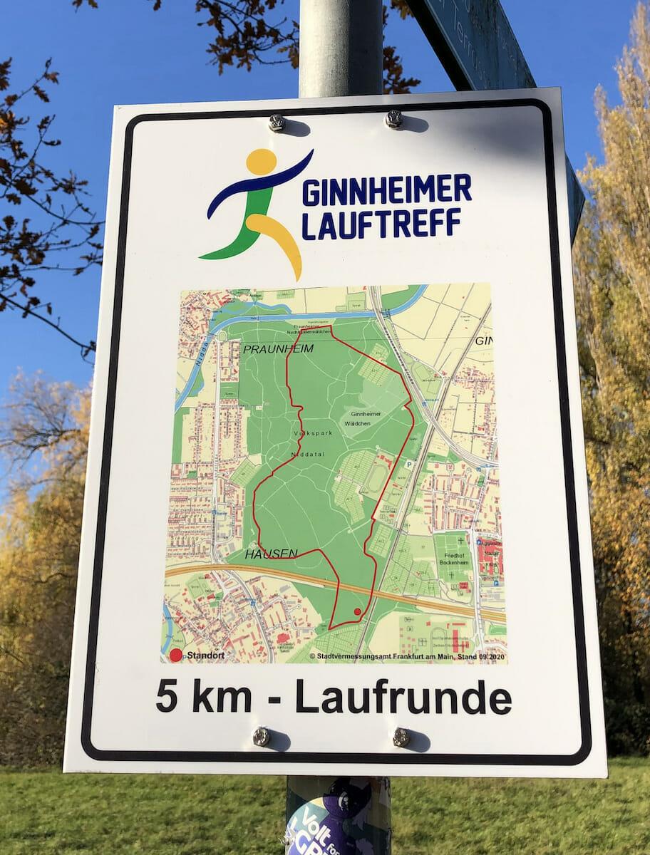 Ginnheimer Lauftreff liebt den Niddapark, Frankfurt a.M. (Hessen)