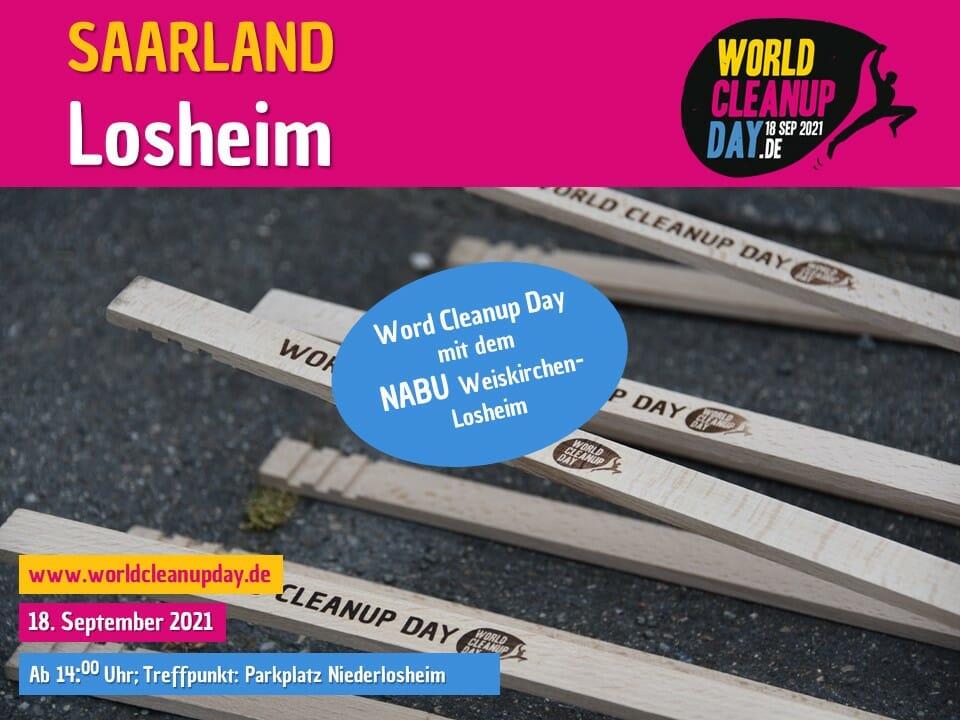 World Cleanup Day mit dem NABU Weiskirchen-Losheim - (Saarland)