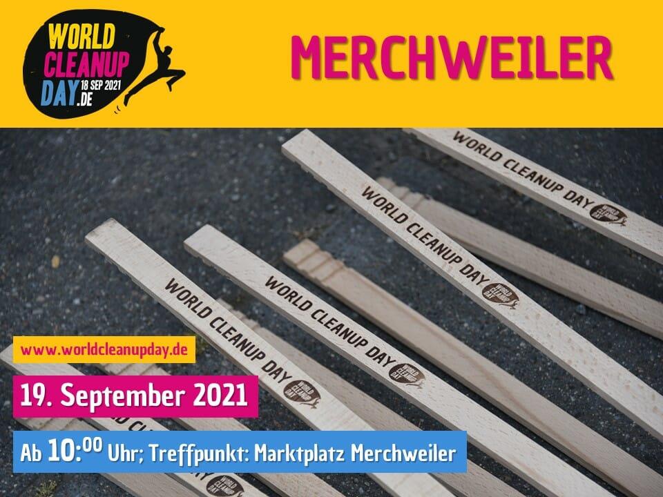 World Cleanup Day in Merchweiler - (Saarland)