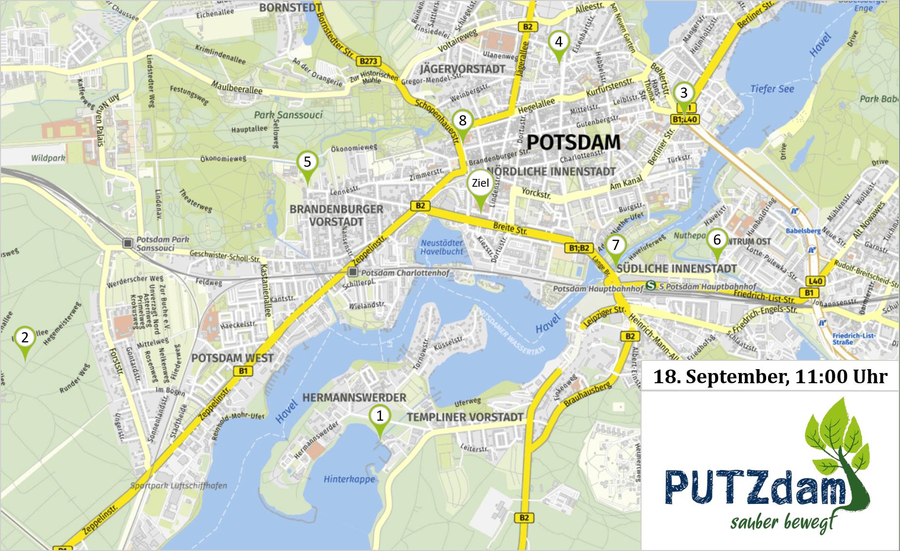PUTZdam, Potzdam (Brandenburg)