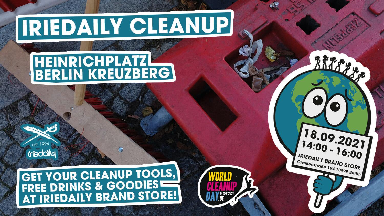 IRIEDAILY CLEANUP (BERLIN)