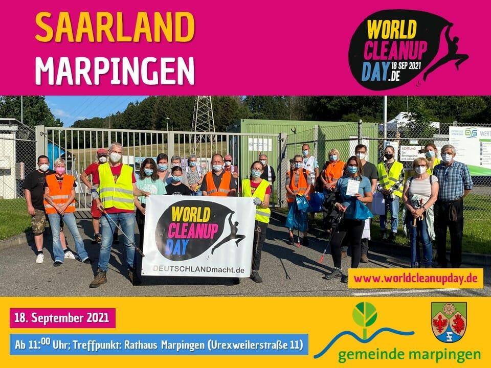 World Cleanup Day in Marpingen - (Saarland)