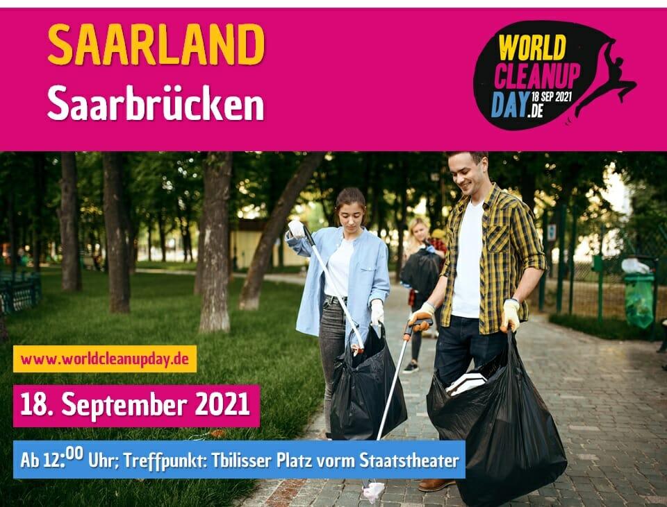 Clean Up Day 2021 mit Terra Utopia! - Saarbrücken - (Saarland)
