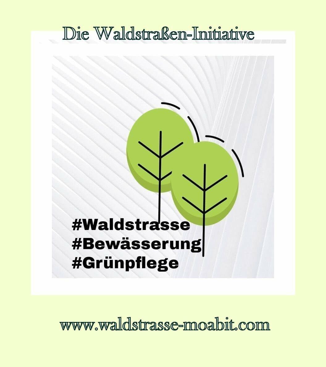 World Cleanup Day2022 in der Moabiter Waldstraße (Berlin)