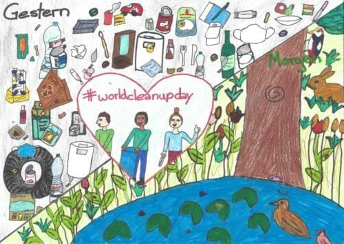 #Gewinner 2020 World Cleanup Day Emma Haberzeth